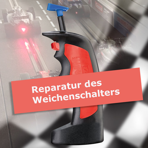 Reparatur Weichenschalter WIRELESS Handregler Carrera Digital